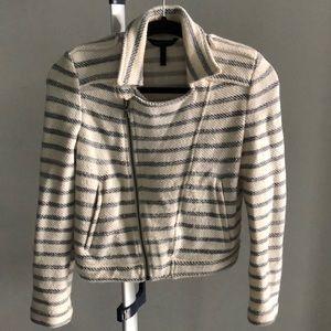 BCBG blazer style sweater